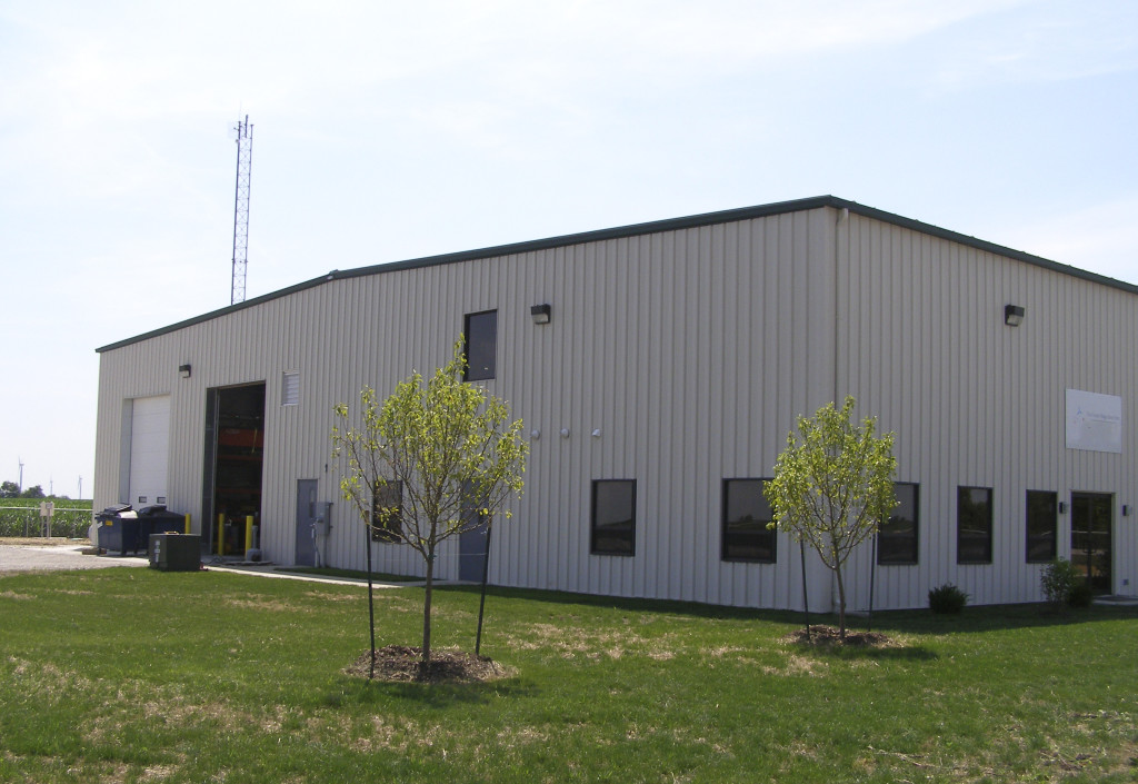 Bp hoosier wind farm operations maintenance building for Farm house construction
