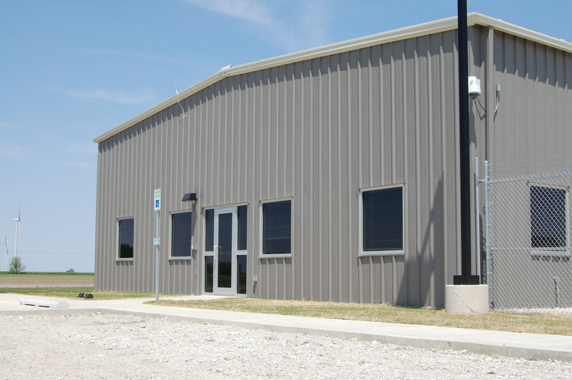 E On Wind Farm Operations Amp Maintenance Building Paxton