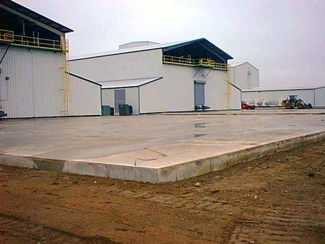 Monsanto Grain Dryer Cladding Foundations And Various