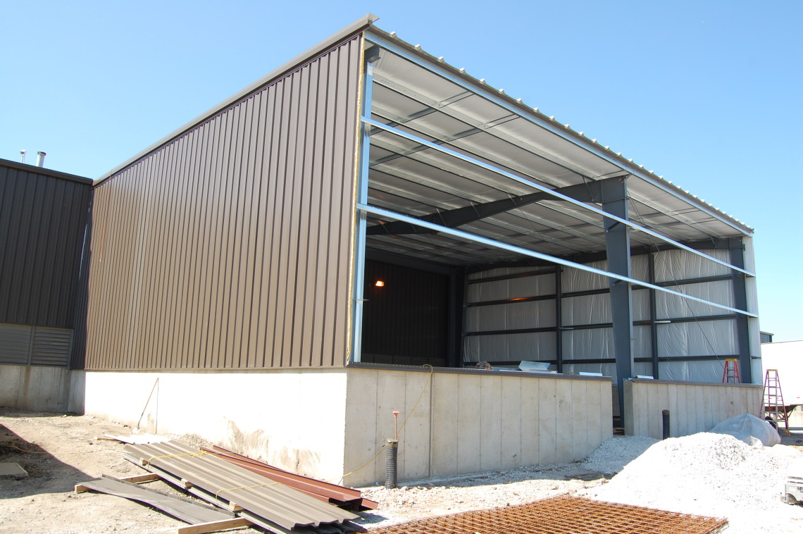 Omni Forge Warehouse Expansion Steinberger Construction