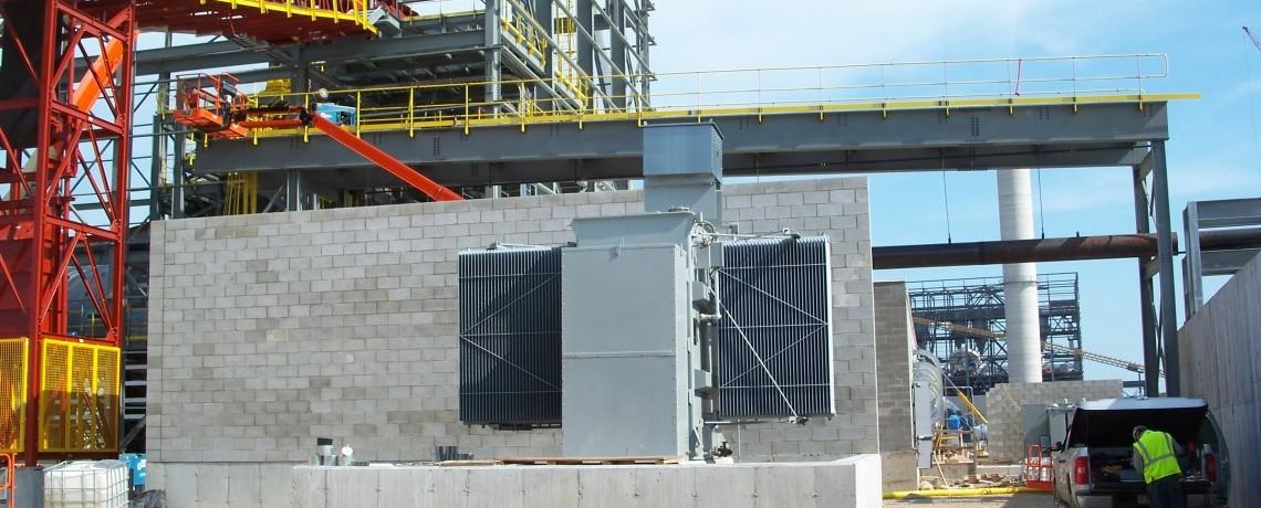 Magnetation Grind & Filter Building Steel Erection