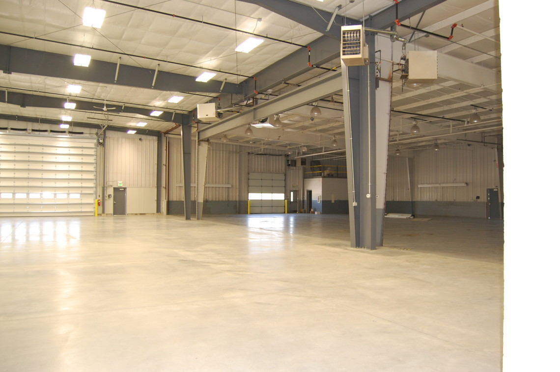 Commercial projects archives steinberger construction inc - Metal building interior liner panels ...