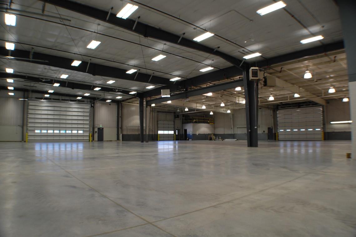 Tri green frankfort shop expansion building retro fit - Metal building interior liner panels ...